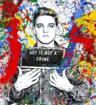 Mr Brainwash - Jailhouse Pop (Large) - 2019