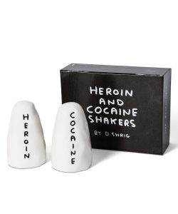 David Shrigley - Heroin and Cocaine Shakers