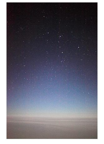 Wolfgang Tillmans - in flight astro (ii) - 2010