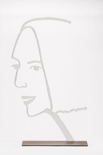 Alex Katz - Ada Outline 2 - 2018