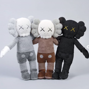 KAWS - HOLIDAY - 3 Plushes