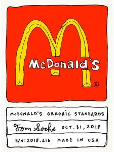 Tom Sachs: McDonald's (McDonald's Graphic Standards) - 2018