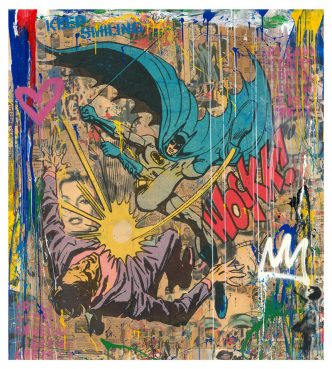 Mr Brainwash - BAT-WOCKK ( Hand finished) - 2019