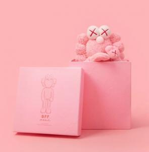 KAWS - BFFPlush (pink) - 2019