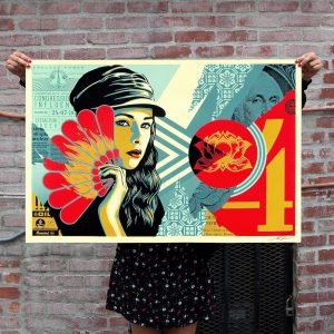 Shepard Fairey - Fan The Flame - 2019