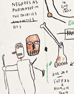 Jean-Michel Basquiat - Dog Leg Study - 2019