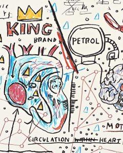 Jean-Michel Basquiat - King Brand - 2019