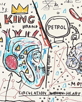 Jean-Michel Basquiat - King Brand - 2019