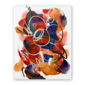 Jeff Koons - Flower Drawing - 2019