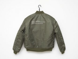 Tom Burr - Green Bomber Jacket - 2019