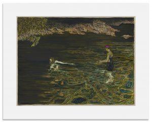 Billy Childish - Swimmer - 2019