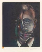 Francis Bacon -Portrait de Michel Leiris - 1990