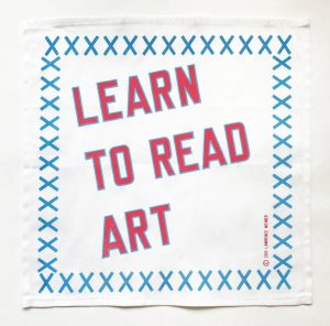 Lawrence Weiner - LEARN TO READ ART - 2019