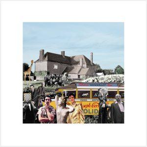 Sir Peter Blake - Elvis visits Farley Farm - 2019