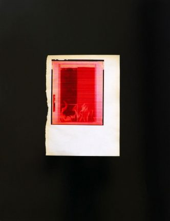 Wade Guyton - Untitled, Red Fire For SMC - 2018