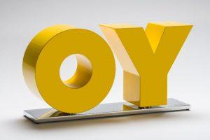 Deborah Kass - OY / YO (yellow) - 2019