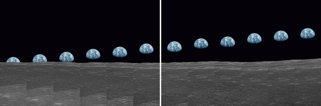 Buzz Aldrin. Apollo 11. - Earthrise Sequence - 2019