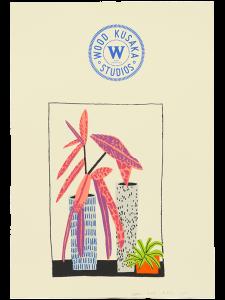 Jonas Wood -Notepad Doodle 3 (State I) -2018