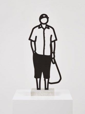 ulian Opie - Melbourne Statuettes,Plastic bag - 2018