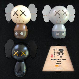 KAWS - Kokeshi Dolls - 2019