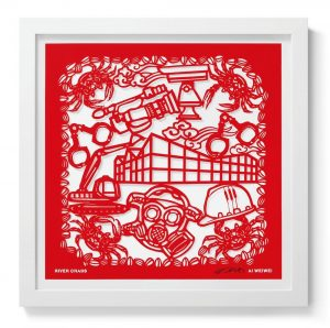 Ai Weiwei - Papercut 7 - River Crabs