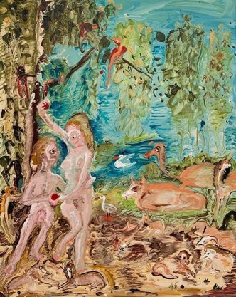 Genieve Figgis - Adam & Eve (after Joachim Wtewael) - 2019