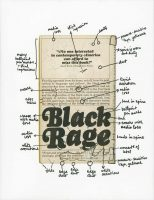 Glenn Ligon - Black Rage (back cover) - 2019