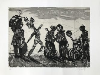 William Kentridge - Day Will Break More Than Once - 2019