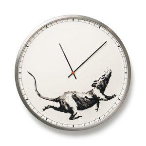 Banksy™ Clock