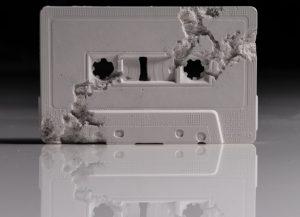 Daniel Arsham -Future Relic 04: Cassette - 2015