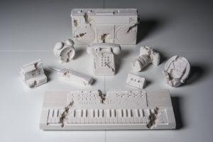 Daniel Arsham - Full set of 9 Future Relics, 2013 - 2018