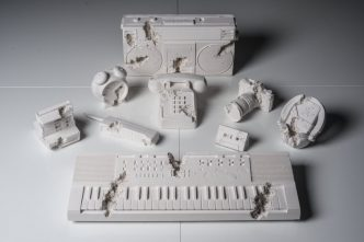 Daniel Arsham - Full set of 9 Future Relics, 2013 - 2018