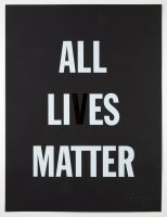 Hank Willis Thomas - ALL LI ES MATTER - 2019