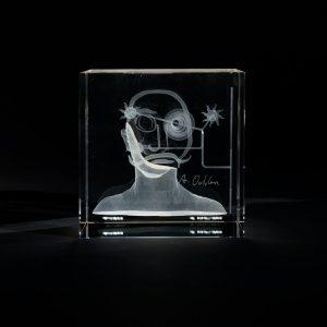 Albert Oehlen -Ol`man driver 3D -2019
