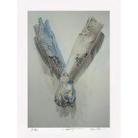 Arsham x Sorayama - untitled (holding hands) - 2019