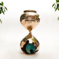 Daniel Arsham -Bronze Hourglass -2019