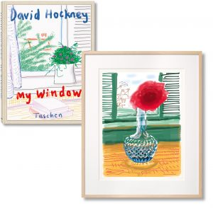 David Hockney - iPhone drawing 'No. 281', 23rd July 2010 - 2019