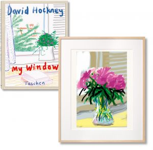 David Hockney - iPhone drawing 'No. 535', 28th June 2009 - 2019
