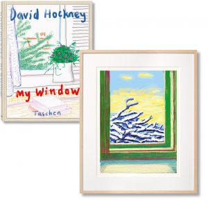 David Hockney - iPhone drawing  'No. 610', 23rd December 2010 - 2019