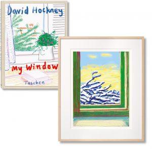 David Hockney -iPhone drawing 'No. 610', 23rd December 2010- 2019