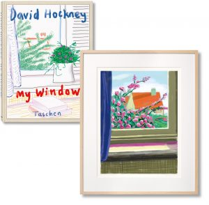 David Hockney - iPhone drawing 'No. 778', 17th April 2011 - 2019