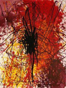 Hermann Nitsch -Untitled - 2019