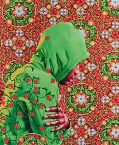 Kehinde Wiley - Head of a Young Girl Veiled - 2019
