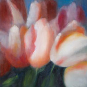 Ross Bleckner - 6 Tulips - 2019