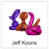 Check out the Jeff Koons Balloon sculptures