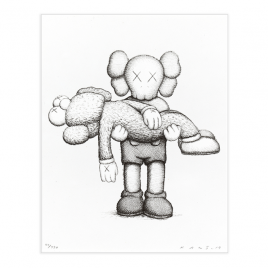 Private Sales - Kaws - Gone (print + book)