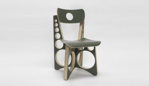Tom Sachs - Shop Chair(Olive Drab)- 2019