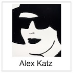 Alex Katz - Beauty etchings