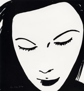 Alex Katz - Beauty 1 - 2019