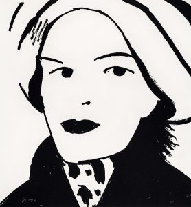 Alex Katz - Beauty 3 - 2019
